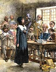 Anne Hutchinson - illustration
