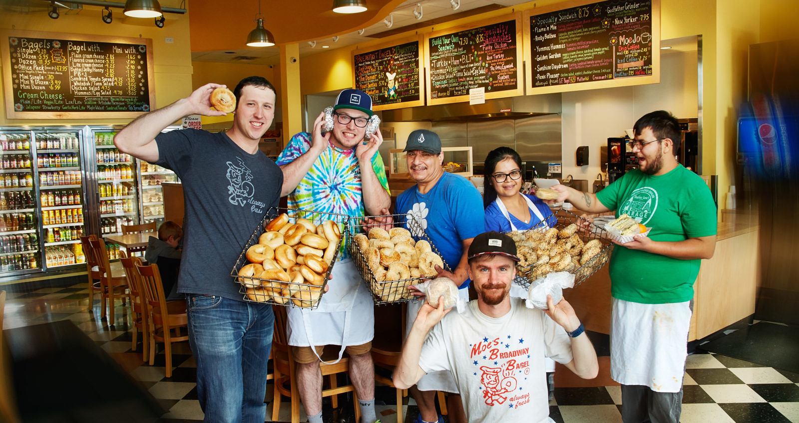 Featured Business: Moe's Broadway Bagel