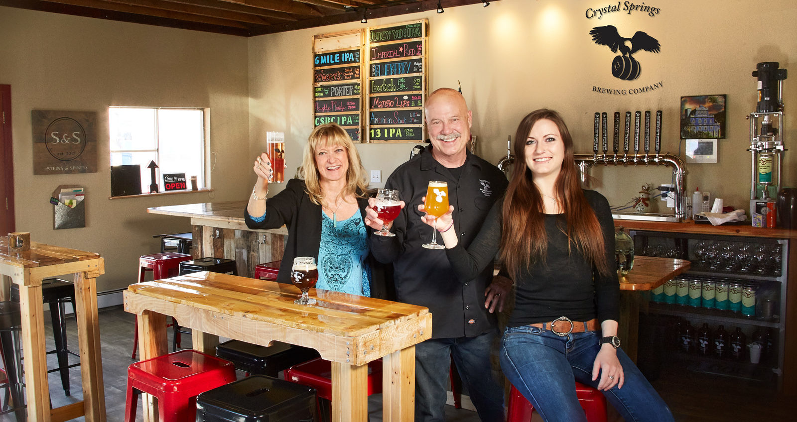 Featured Business: Crystal Springs Downtown Taproom
